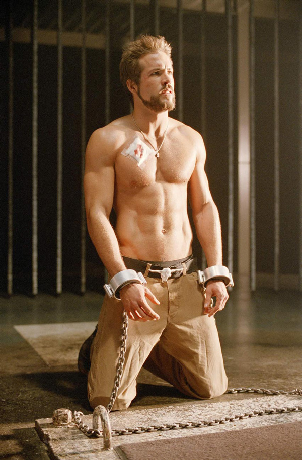 Ryan  Reynolds  Blade  Trinity Muscle Sexy