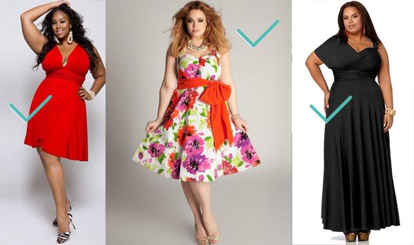 Type de robe pour femme ronde et petite