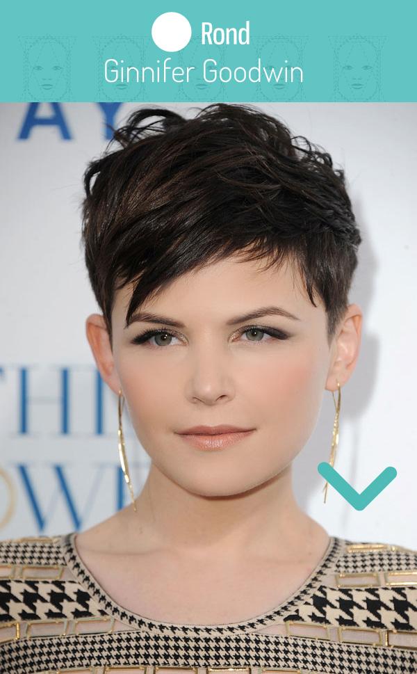 Visage rond coupe et coiffure pour femme | Physique de rêve
