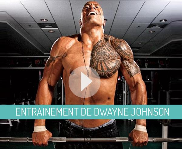 les bras de dwayne johnson | physique de rêve