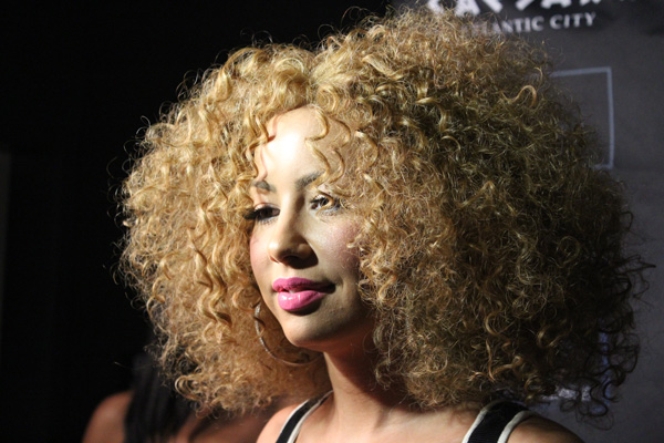 Couleur cheveux amber rose