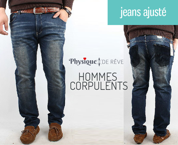 Choisir la coupe de son jean homme