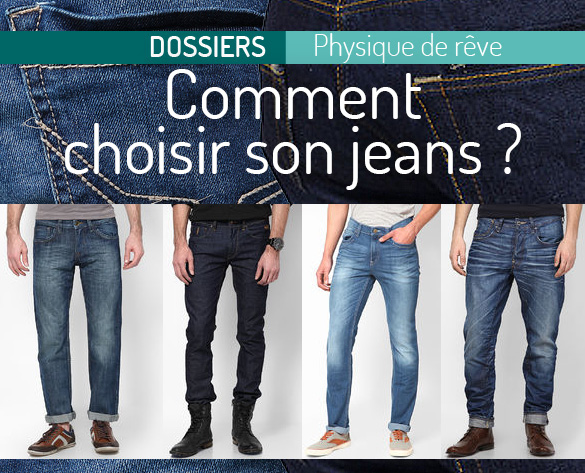 Differente coupe de jean homme