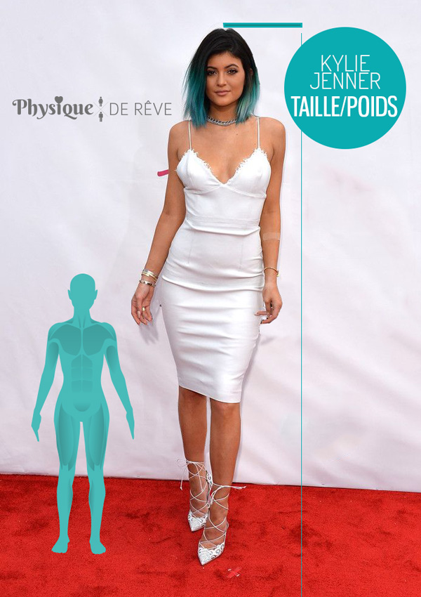 kylie-jenner-taille-poids