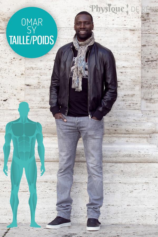 Célèbre Omar Sy taille poids muscles et morphologie – physique de rêve  KO72
