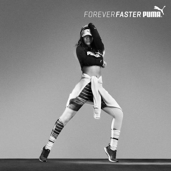 Rihanna partenaire de puma premi re image physique de r ve - Rihanna poids taille ...