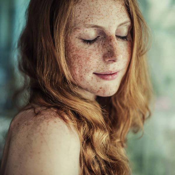 image Gorgeous freckled redhead does great 69