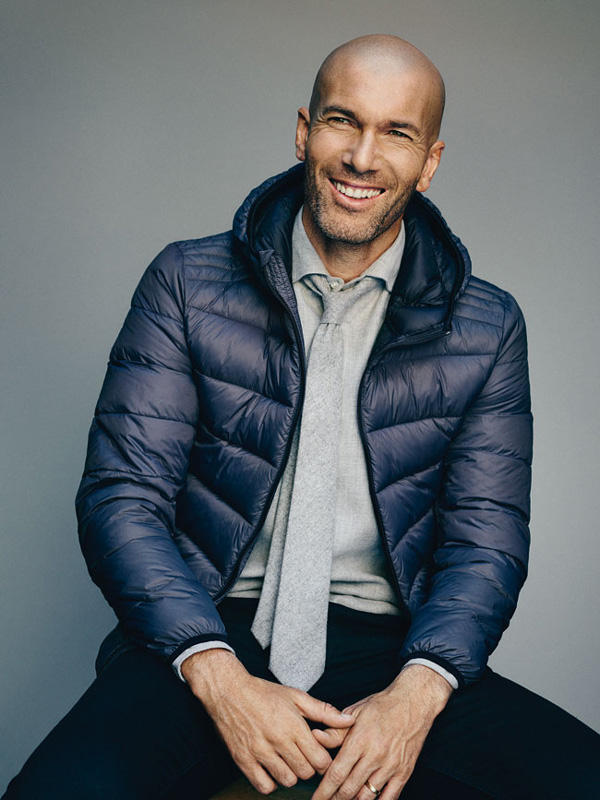 Zinedine Zidane, égérie de Mango Man   Physique de rêve 9065ae2abe17